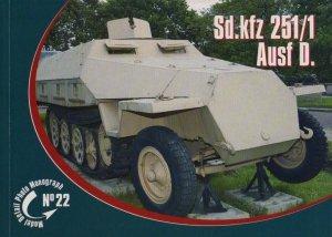 Rossagraph Model Detail Photo Monograph No. 22 - Sd.kfz. 251/1 Ausf. D PL/EN