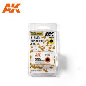 AK Interactive AK 8114 ALAMO POPLAR WINTER (TOP QUALITY) 1/35