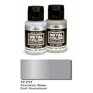 Vallejo 77717 Metal Color- Dull Aluminium 32ml