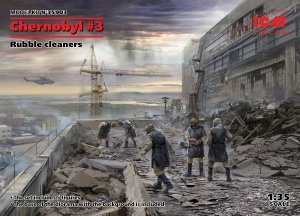 ICM 35903 Chernobyl 3. Rubble cleaners (5 figures) 1/35