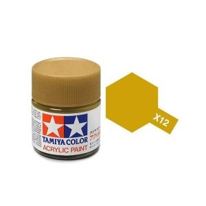 Tamiya 81012 Acryl X-12 Gold Leaf 23ml