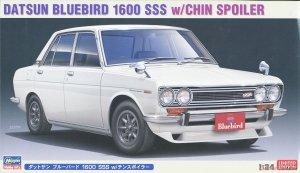 Hasegawa 20468 Datsun Bluebird 1600 SSS w/Chin Spoiler 1/24