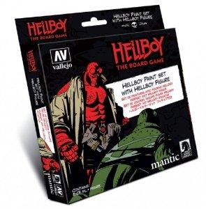 Vallejo 70187 Zestaw Model Color 8 farb + figurka Hellboy 8x17ml