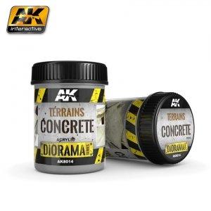 AK Interactive AK 8014 Terrains Concrete 250ML
