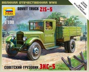 Zvezda 6124 Soviet Truck ZiS-5 (Art of Tactic) 1/100