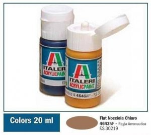 Italeri 4643AP FLAT NOCCIOLA CHIARO 20ml