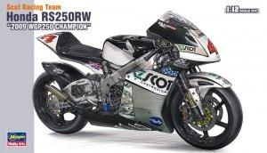 Hasegawa 21501 (BK1) Scot Racing Team Honda 250 2009 WGP250 Champ (1:12)
