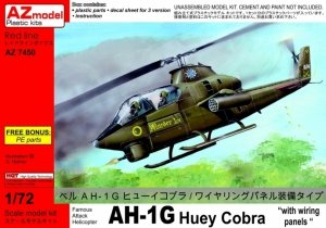 AZmodel AZ7450 Bell AH-1G Huey Cobra w / wiring panels 1/72