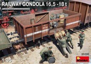MiniArt 35296 RAILWAY GONDOLA 16,5-18t 1/35