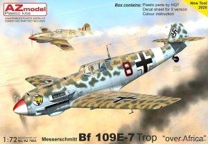 AZ Model AZ7663 Messerschmitt Bf 109E-7 Trop Over Africa 1/72