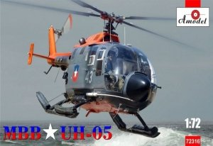 A-Model 72316 Bo-105 CBS Armada de Chile MBB UH-05 1:72