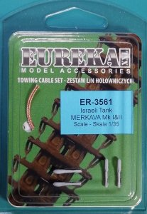 Eureka XXL ER-3561 Towing cable for Israeli Merkava I & II Tanks 1/35
