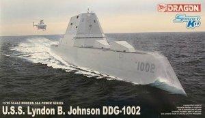 Dragon 7148 U.S.S Zumwalt/Michael Monsoor/Lyndon B. Johnson 1/700