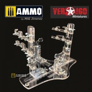 Vertigo VMP006 Biplane plastic jig stand & transport EVO BI 7248