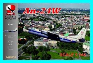 Big Model 1440055 Antonov An-24W Polish Air Force (1:144)