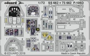 Eduard 73662 F-105D interior 1/72 TRUMPETER