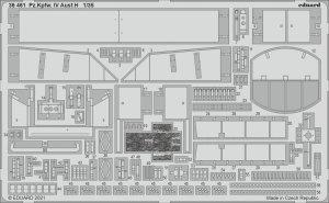 Eduard 36461 Pz.Kpfw. IV Ausf.H MINIART 1/35