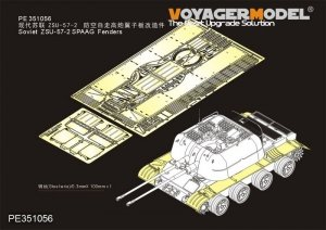Voyager Model PE351056 Soviet ZSU-57-2 SPAAG Fenders for Takom 1/35