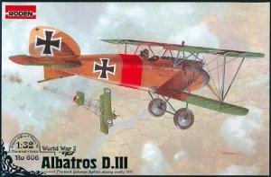 Roden 606 WW I Albatros D.III