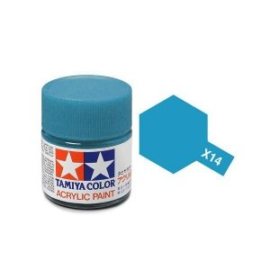 Tamiya 81014 Acryl X-14 Sky Blue 23ml