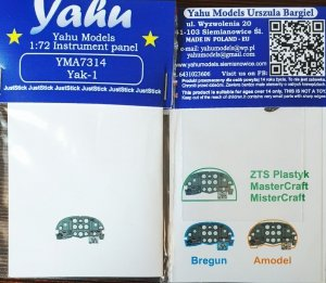 Yahu YMA7314 Yak-1 for Bregun 1/72