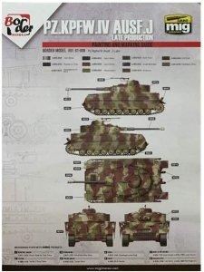 Border Model BD0036 Pz.Kpfw.IV Ausf.J Late Production Masks for Border Model BT-008 1/35