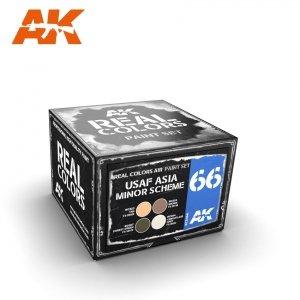 AK Interactive RCS066 USAF ASIA MINOR SCHEME SET 4x10ml