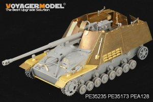 Voyager Model PEA128 WWII German Sd.Kfz. 164 Nashorn Armour plate (For DRAGON Kit) 1/35