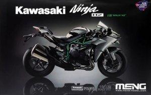 Meng Model MT-002s Kawasaki Ninja H2 Pre-coloured 1/9