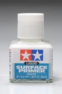 Tamiya 87096 Liquid Surface Primer 40ml - White