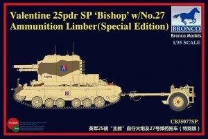 Bronco CB35077SP British 25pdr SP Bishop (1:35)