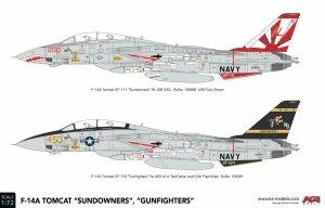 KA Models KP-72003A F-14A Tomcat Sundowners (ex Fujimi) 1/72