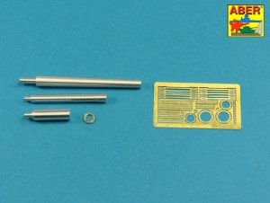 Aber 35L-250 125mm 2A46 Barrel for Russian Tank T-64 & T-72A (For Trumpeter) 1:35