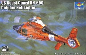 Trumpeter 05107 US Coast Guard HH-65C Dolphin Helicopter 1/35