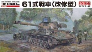 Fine Molds FM46 JGSDF MBT Type 61 Upgraded 1/35