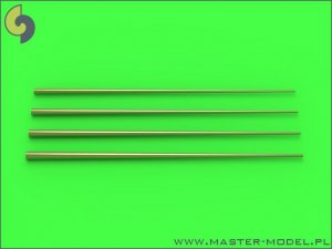 Master SM-350-090 Set of universal tapered masts No2 (length = 100mm each, diameters = 0,7/2,2mm; 0,8/2,5mm; 0,9/2,8mm; 1/3mm) 1:350