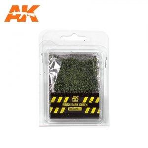 AK Interactive AK 8156 BIRCH DARK GREEN LEAVES 28MM  1/72