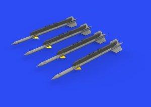 Eduard 672237 R-3R missiles for MiG-21 1/72 EDUARD