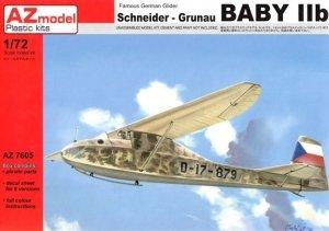 AZ Model AZ7605 Schneider Grunau Baby IIb CZ 1/72
