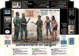 Master Box 35185 Somewhere in Saigon (Vietnam War) 1:35