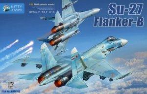 Kitty Hawk 80163 Su-27 Flanker-B 1/48
