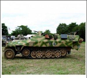 Zebrano 100-002 Sd.Kfz 251/1D 1:100
