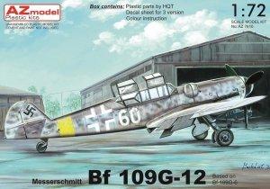 AZ Model AZ7610 Bf 109G-12 1/72