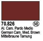 Vallejo 70826 German Cam. Med. Brown (145)
