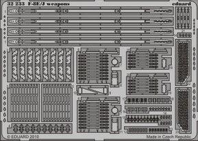 Eduard 32233 F-8E/J weapon TRUMPETER 1/32