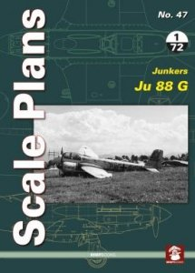 Stratus 81951 Scale Plans No. 47: Junkers Ju 88 G