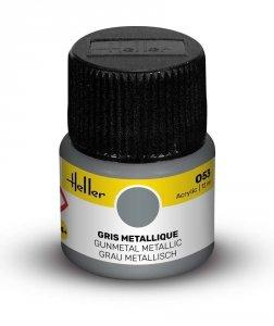 Heller 9053 053 Gunmetal - Metallic 12ml