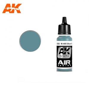 AK Interactive AK 2232 M-485 BLUE GRAY 17ml