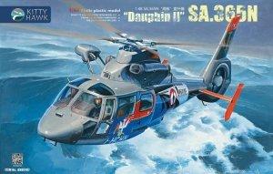Kitty Hawk 80107 SA.365N Dauphin II 1/48
