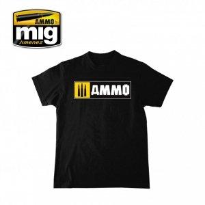 AMMO of Mig Jimenez 8023L AMMO EASY LOGO T-SHIRT ( rozmiar , size L)